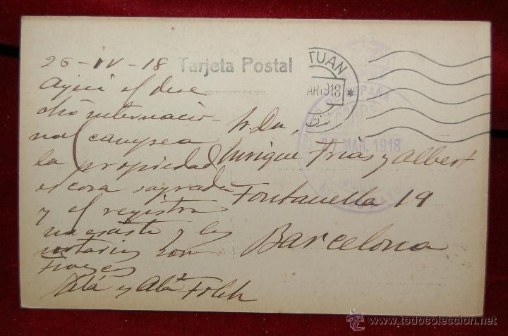 Postales: ANTIGUA POSTAL DE TETUAN. MARRUECOS. CEMENTERIO MUSULMAN. CIRCULADA - Foto 2 - 42516631