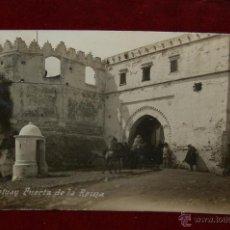 Postales: ANTIGUA POSTAL DE TETUAN. MARRUECOS. PUERTA DE LA REINA. CIRCULADA. Lote 46588144