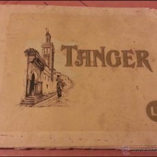 ANTIGUO LIBRO O ALBUM 16 POSTALES DE TANGER, POSTAL MIDE 20,5X15,5 cnts, texto en frances
