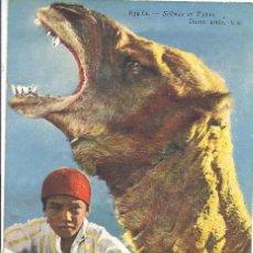 Postales: SCÈNES ET TYPES 'DEUX AMIS'. LEVY ET NEURDEIN. ESCRITA AL DORSO. 1931. Lote 42786485