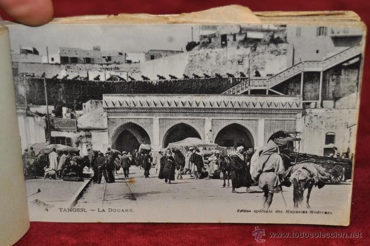 Postales: ALBUM DE POSTALES DE TANGER. MARRUECOS. DIFERENTES VISTAS. 24 TARJETAS - Foto 3 - 42886900