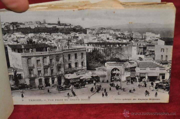 Postales: ALBUM DE POSTALES DE TANGER. MARRUECOS. DIFERENTES VISTAS. 24 TARJETAS - Foto 5 - 42886900