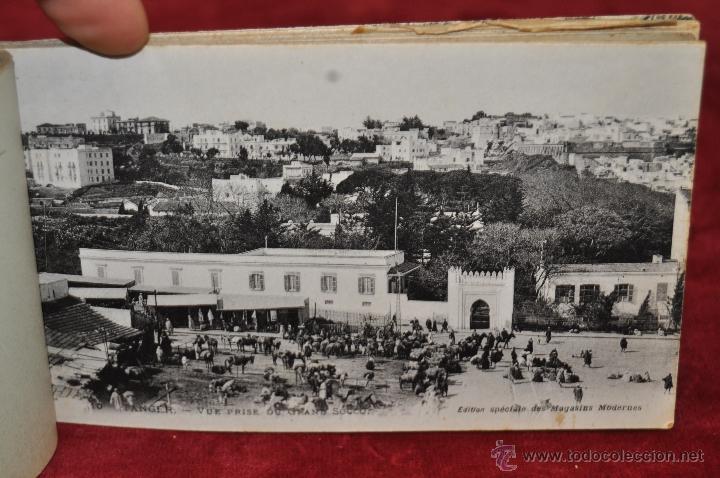 Postales: ALBUM DE POSTALES DE TANGER. MARRUECOS. DIFERENTES VISTAS. 24 TARJETAS - Foto 8 - 42886900