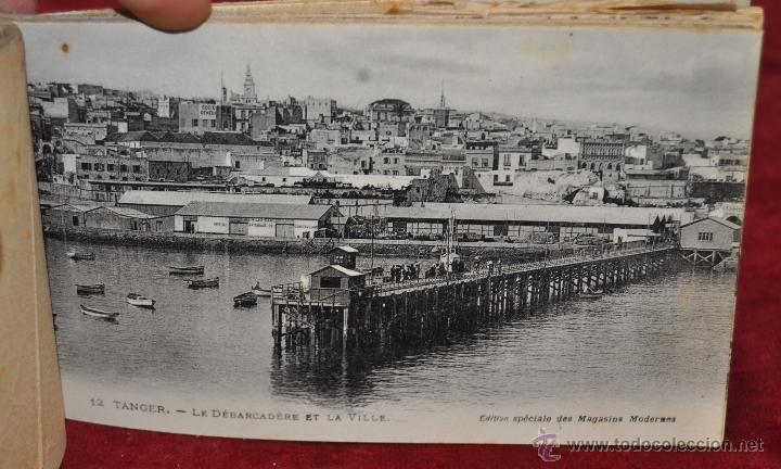 Postales: ALBUM DE POSTALES DE TANGER. MARRUECOS. DIFERENTES VISTAS. 24 TARJETAS - Foto 9 - 42886900