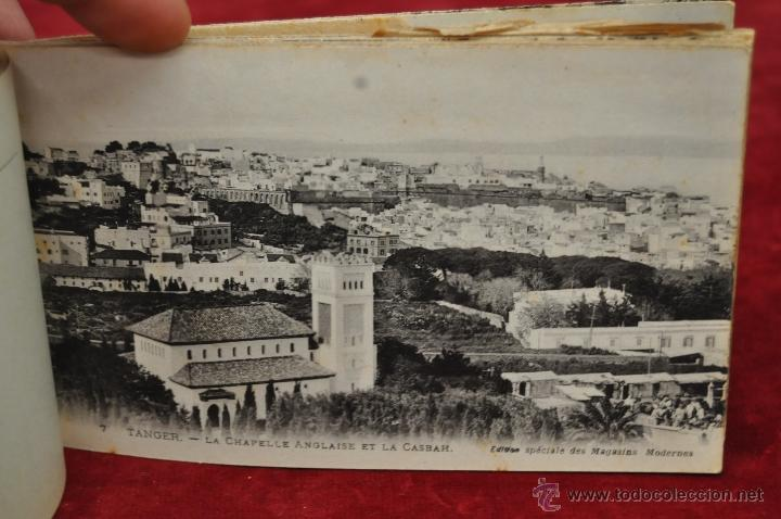 Postales: ALBUM DE POSTALES DE TANGER. MARRUECOS. DIFERENTES VISTAS. 24 TARJETAS - Foto 10 - 42886900