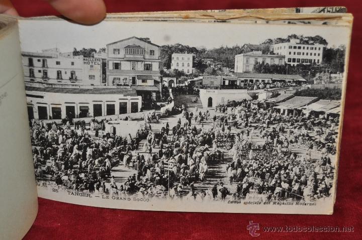 Postales: ALBUM DE POSTALES DE TANGER. MARRUECOS. DIFERENTES VISTAS. 24 TARJETAS - Foto 12 - 42886900
