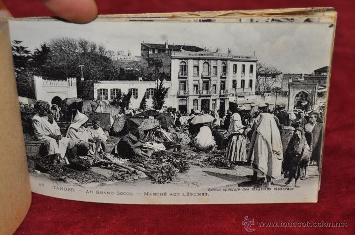 Postales: ALBUM DE POSTALES DE TANGER. MARRUECOS. DIFERENTES VISTAS. 24 TARJETAS - Foto 13 - 42886900