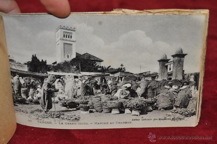 Postales: ALBUM DE POSTALES DE TANGER. MARRUECOS. DIFERENTES VISTAS. 24 TARJETAS - Foto 14 - 42886900