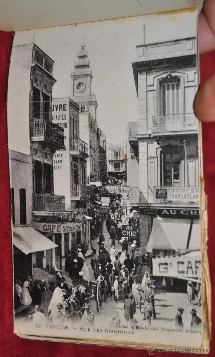 Postales: ALBUM DE POSTALES DE TANGER. MARRUECOS. DIFERENTES VISTAS. 24 TARJETAS - Foto 15 - 42886900