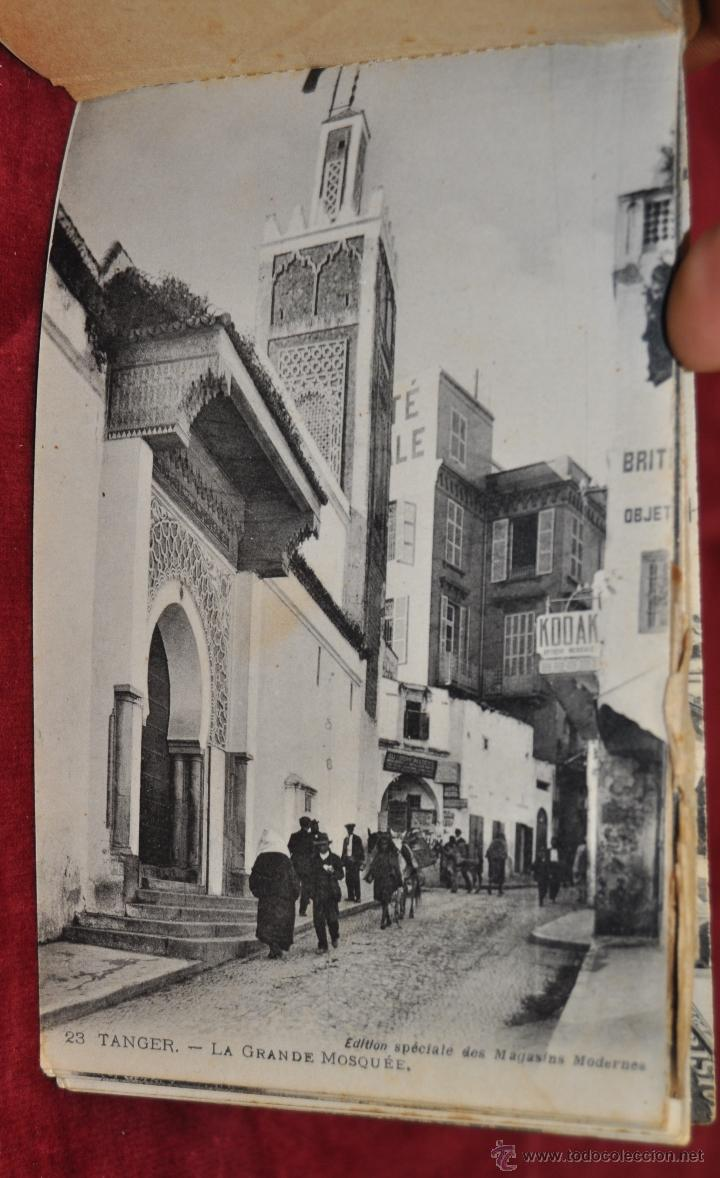 Postales: ALBUM DE POSTALES DE TANGER. MARRUECOS. DIFERENTES VISTAS. 24 TARJETAS - Foto 16 - 42886900
