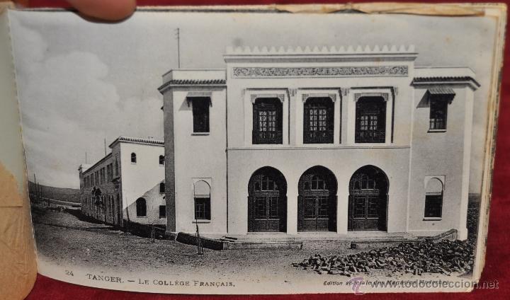 Postales: ALBUM DE POSTALES DE TANGER. MARRUECOS. DIFERENTES VISTAS. 24 TARJETAS - Foto 17 - 42886900