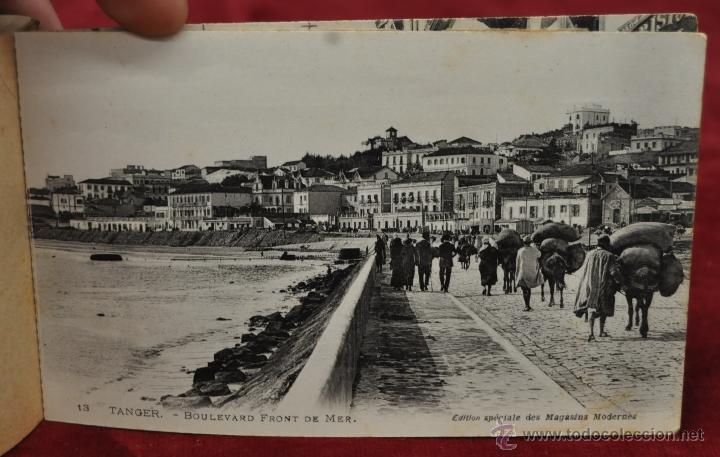 Postales: ALBUM DE POSTALES DE TANGER. MARRUECOS. DIFERENTES VISTAS. 24 TARJETAS - Foto 21 - 42886900