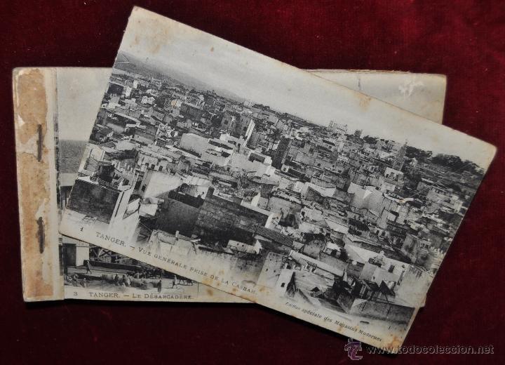 Postales: ALBUM DE POSTALES DE TANGER. MARRUECOS. DIFERENTES VISTAS. 24 TARJETAS - Foto 24 - 42886900
