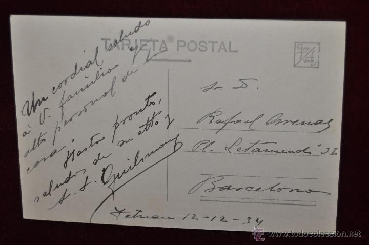 Postales: ANTIGUA FOTO POSTAL DE TETUAN. MARRUECOS. CALLE DEL BARRIO MORO. ESCRITA - Foto 2 - 43236249