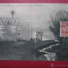 Postais: CASABLANCA. MARRUECOS. SIDI BELIOT. SDANTO PATRON. CIRCULADA 1907.. Lote 44098374