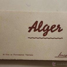 Postales: CUADERNO 10 POSTALES ALGER, DE EDICIONES SANSOL AÑOS 50. Lote 44264338