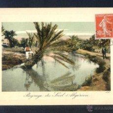 Postales: *PAYSAGE DU SUD ALGÉRIEN* SERIE SCÈNES ET TYPES Nº 6435. ED. LL CIRCULADA 1910.. Lote 44711898