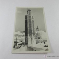 Postales: Aª POSTAL-FOTOGRAFÍA-TETUÁN-MARRUECOS-B/N-PERFECTA-NUEVA-.. Lote 45080506