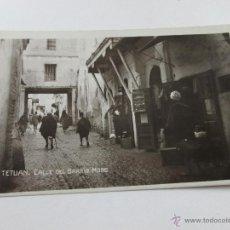 Postales: Aª POSTAL-TETUÁN-FOTOGRAFÍA-MARRUECOS-B/N-BARRIO MORO-PERFECTA-NUEVA-.. Lote 45108203