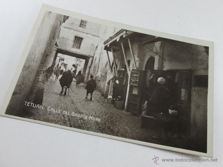 Postales: Aª POSTAL-TETUÁN-FOTOGRAFÍA-MARRUECOS-B/N-BARRIO MORO-PERFECTA-NUEVA-. - Foto 5 - 45108203