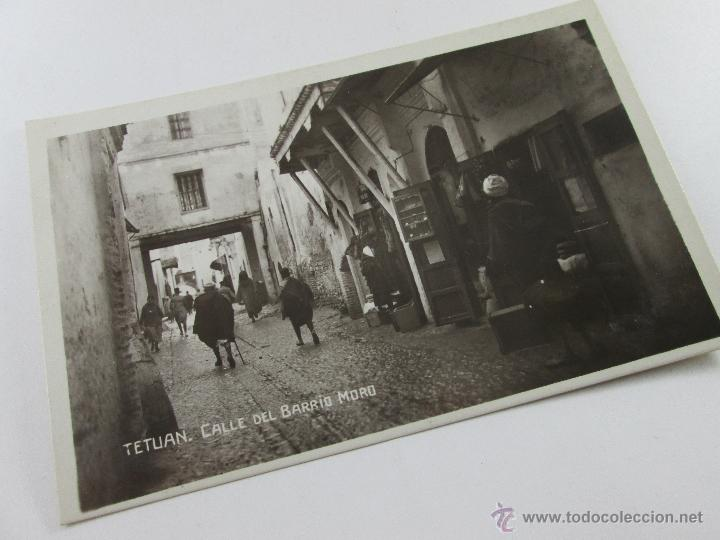 Postales: Aª POSTAL-TETUÁN-FOTOGRAFÍA-MARRUECOS-B/N-BARRIO MORO-PERFECTA-NUEVA-. - Foto 6 - 45108203