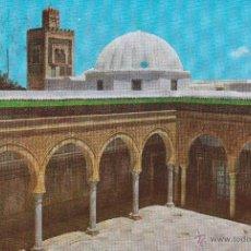 Postales: Nº 13609 POSTAL KAIROUAN TUNEZ MOSQUEE SIDI SAHBI. Lote 45721839