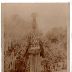 Postales: TARJETA POSTAL ETNICA COSTUMBRISTA DE LERAT. A.O.F. GUINEE. DANSEUR THOMAS. Nº 105.. Lote 45792431