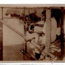 Postales: TARJETA POSTAL ETNICA COSTUMBRISTA DE LERAT. A.O.F. TISSERAND INDIGENE. Nº 81.. Lote 45793271