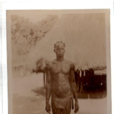 Postales: TARJETA POSTAL ETNICA COSTUMBRISTA DE LERAT. A.O.F. GUINEE. TYPE GUERZE. Nº 95.. Lote 45793338