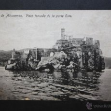 Postales: ANTIGUA POSTAL DEL PEÑON DE ALHUCEMAS. MARRUECOS. VISTA TOMADA DE LA PARTE ESTE. ED. BOIX HNOS. Lote 45955391
