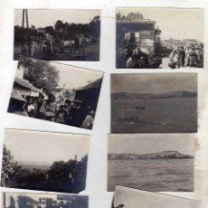 Postales: NORTE DE AFRICA. TANGER MARRUECOS. 10 FOTOGRAFÍAS 6 X 4 CM APROXIMADAMENTE. . Lote 48266104