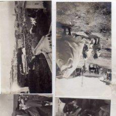 Postales: NORTE DE AFRICA. TANGER MARRUECOS. 10 FOTOGRAFÍAS 14 X 8 CM. Lote 48266168