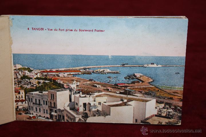 Postales: CARNET POSTAL DE TANGER (MARRUECOS). 2ª SERIE. VARIAS VISTAS. ED. LEBRUN FRÈRES. 10 POSTALES - Foto 2 - 48329651