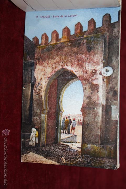 Postales: CARNET POSTAL DE TANGER (MARRUECOS). 2ª SERIE. VARIAS VISTAS. ED. LEBRUN FRÈRES. 10 POSTALES - Foto 4 - 48329651