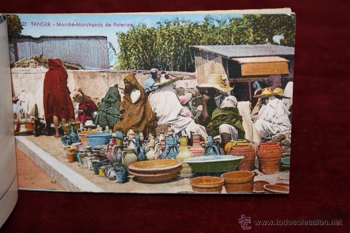 Postales: CARNET POSTAL DE TANGER (MARRUECOS). 2ª SERIE. VARIAS VISTAS. ED. LEBRUN FRÈRES. 10 POSTALES - Foto 5 - 48329651