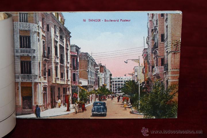 Postales: CARNET POSTAL DE TANGER (MARRUECOS). 2ª SERIE. VARIAS VISTAS. ED. LEBRUN FRÈRES. 10 POSTALES - Foto 6 - 48329651