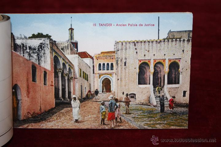 Postales: CARNET POSTAL DE TANGER (MARRUECOS). 2ª SERIE. VARIAS VISTAS. ED. LEBRUN FRÈRES. 10 POSTALES - Foto 7 - 48329651