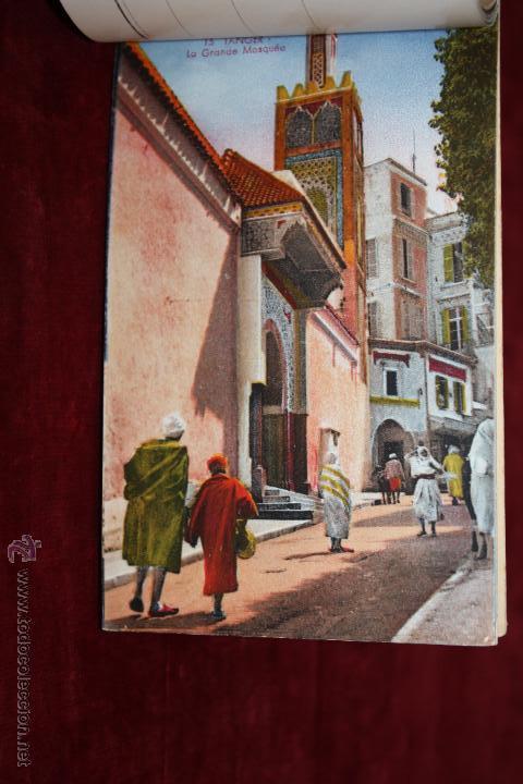Postales: CARNET POSTAL DE TANGER (MARRUECOS). 2ª SERIE. VARIAS VISTAS. ED. LEBRUN FRÈRES. 10 POSTALES - Foto 8 - 48329651