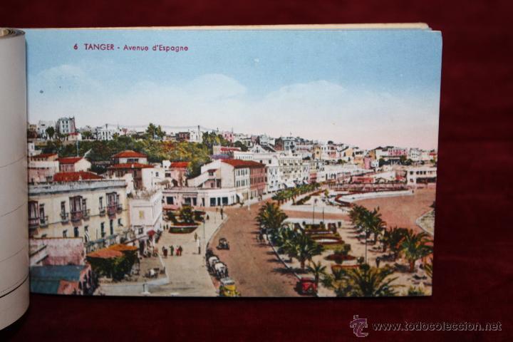 Postales: CARNET POSTAL DE TANGER (MARRUECOS). 2ª SERIE. VARIAS VISTAS. ED. LEBRUN FRÈRES. 10 POSTALES - Foto 10 - 48329651