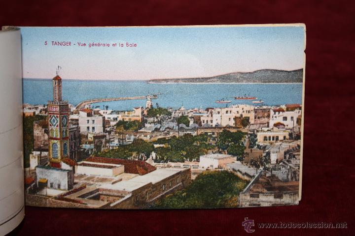 Postales: CARNET POSTAL DE TANGER (MARRUECOS). 2ª SERIE. VARIAS VISTAS. ED. LEBRUN FRÈRES. 10 POSTALES - Foto 11 - 48329651