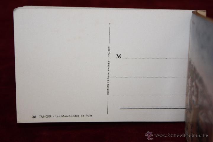 Postales: CARNET POSTAL DE TANGER (MARRUECOS). 2ª SERIE. VARIAS VISTAS. ED. LEBRUN FRÈRES. 10 POSTALES - Foto 12 - 48329651