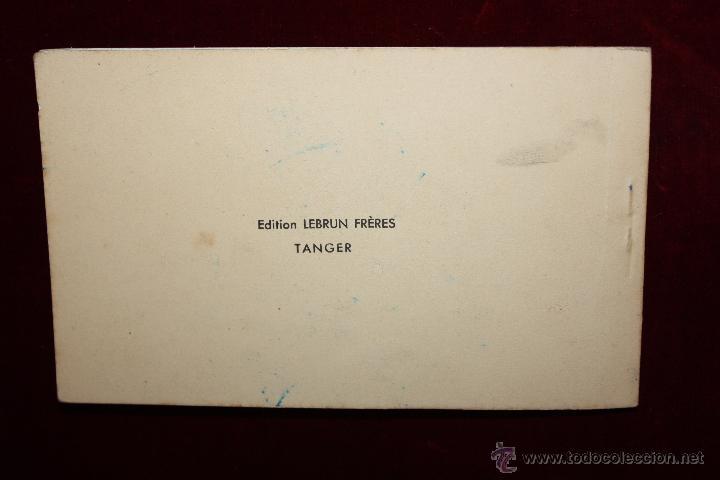 Postales: CARNET POSTAL DE TANGER (MARRUECOS). 2ª SERIE. VARIAS VISTAS. ED. LEBRUN FRÈRES. 10 POSTALES - Foto 13 - 48329651
