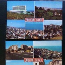 Postales: LOTE DE 3 POSTALES DE ALGER SIN CIRCULAR DE LOS AÑOS 60. VER FOTOS ADICIONALES. . Lote 48461734