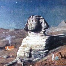 Postales: POSTAL ANTIGUA DE EGIPTO - LA ESFINGE - RAPHAEL TUCK & SONS SERIE XI .-NO CIRCULADA. Lote 49642304