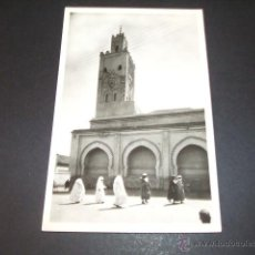 Postales: MARRAKECH MARRUECOS MEZQUITA DE BAB DOUKKALA. Lote 49700357