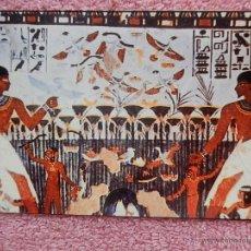 Postales: TUMBA DE MENNA TUMBAS DE LOS NOBLES LUXOR 1992 CAIRO Z-ART INGLÉS ALEMÁN ARABE. Lote 50211011