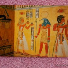 Postales: TUMBA DE KHAEMWASET VALLE DE LAS REINAS 1992 CAIRO Z-ART INGLÉS ALEMÁN ARABE. Lote 50211358