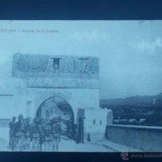 Postales: POSTAL MARRUECOS TETUAN PUERTA DE LA LUNETA . Lote 50973869