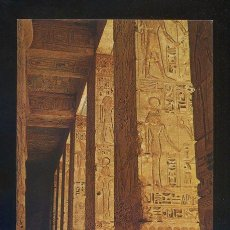Postales: THEBES *THE TEMPLE OF MEDINET HABU* SIN DATOS EDITOR. NUEVA.. Lote 105088814