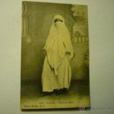 Postales: POSTAL ALGERIE - MAURESQUE VOILEE.- BB. Lote 52612088